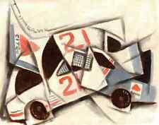TOMMERVIK RACING CAR RACECAR CUBISM PAINTING