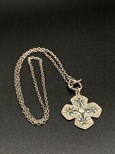 Barse Sterling Silver Thailand 925 Keltic Style Necklace Pendant 15.5g