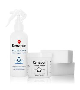 Renapur Protector Kit - leather, suede, nubuck, fabric, cotton, shoes, trainers