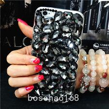 3D hard Case Cover Handmade Luxury Bling Jewelled Rhinestone Diamond Crystal 5