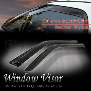 Fit 1995-2005 Chevrolet Blazer S10 window visor shade vent wind rain deflector