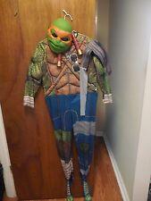 Rubies Teenage Mutant Ninja Turtles Mikey Halloween Costume Boy's size L(12-14)
