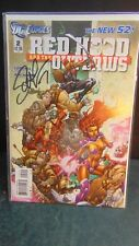 Red Hood and the Outlaws # 2 Signed by Scott Lobdell