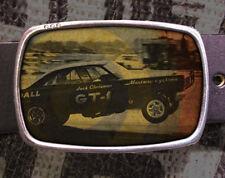 Hot Rod Vintage Inspired Art Gift Car Racing Belt Buckle