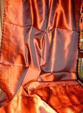 Seidenträume Seidenschal 6061 Kupfer orange Seidenstola Seidentuch reine Seide