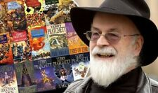 Terry Pratchett Collection 55 Audiobooks MP3 Inc the full Discworld Series DVD