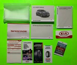 2021 Kia SPORTAGE Factory Owners Manual Set w/ Car Infotainment *OEM*