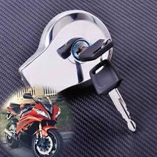 Silver Fuel Gas Tank Cap Lock+Key fit for Yamaha Virago XV125 250 Vstar XV250