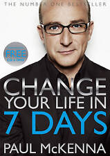 CHANGE YOUR LIFE IN SEVEN DAYS BOOK CD & DVD / PAUL MCKENNA 0593066618