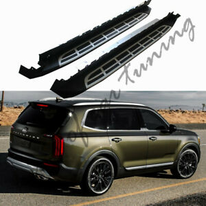 Running board fits for KIA Telluride 2019 2020 side stairs nerf bar side steps