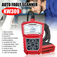 Car Diagnostic Scanner KW309 Engine Error Fault Code Reader Backlit OBD2   t