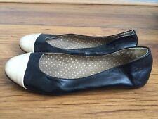 Women's Black Leather Shoes Size 4 (37)