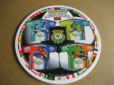 VANUATA 2006 SOCCER WORLD-CUP,SOUVENIR SHEET (Self-adhesive)