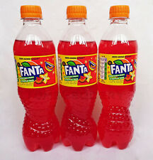 3 x NEW FANTA Watermelon, Melon & Starfruit Flavor Soda Limited Edition 500ml