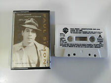 PAUL SIMON NEGOTIATIONS AND LOVE SONGS 1971-1986 CASSETTE TAPE CINTA WARNER 1988