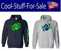 Seattle Seahawks Football Pullover Hooded Sweatshirt