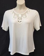 Noni B Size 16-18 Womens Knit Top Shirt Short Sleeve Work Casual Evening Travel