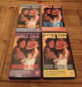 VHS Video - Jackie Chan Bundle