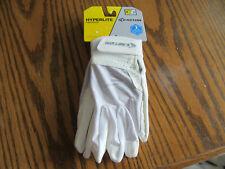 NWT Easton Hyperlite Women's Fastpitch Softball Batting Gloves WHITE Medium New