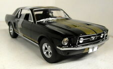 Greenlight 1/18 Scale 12897 1967 Ford Mustang GT Black Gold Diecast model car