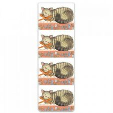 """Alex Clark Magnetic Bookmark Cat Kitten """"Cat and Bow"""" Great Gift Free P&P"""
