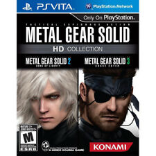Metal Gear Solid HD Collection [M]  Sony Playstation PS Vita Game