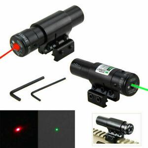 Red Grün Dot Laser Sight Zielfernrohr Fit 11mm 20mm Picatinny Schienenmontage
