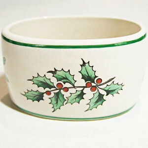 CHRISTMAS TREE by Spode Napkin Ring Old Style 1950 NEW NEVER USED made England