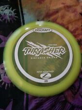 New First Run Discraft Z Thrasher 173-174 Gram Yellow Golf Disc
