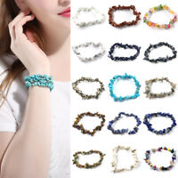Women Fashion Natural Stone Bracelets Hand Chain Jewelry Birthday Gift Beach New