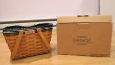 Longaberger Collector 00004000 's Club 2006 Membership Basket - with liner and protector