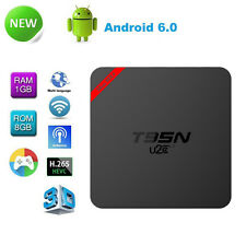 T95N Android 6.0 Quad Core S905X WIFI Smart TV Box Fully Loaded 16.1 1G+8G Root