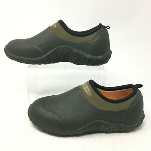 Muck Boot Company  Youth 3 Womens 5 Daily Garden Slip On Shoes Olive Green