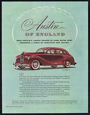 Austin British Automobile Advertising