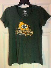 Green Bay Packers Wisconsin NFL '47 Women's T-Shirt Size Medium