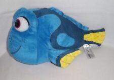 DISNEY Plush FINDING NEMO Blue TALKING DORY FISH Stuffed Animal Ban Dai Toy