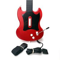 Sony PlayStation 2 Guitar Hero Gibson Red Octane PSLGH Wired Controller w/ Strap