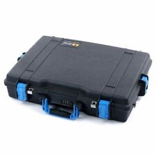 Black and Blue Pelican 1495 case with Foam.