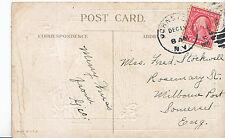 Genealogy Postcard - Family History - Stockwell - Milborne Port - Somerset U3262