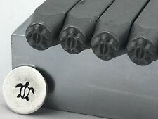 Sea Turtle Metal Stamp 6mm Hand Stamping Tool, Nautical Design Stamping Supplies