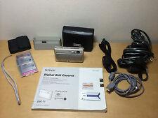 Used - Camera SONY Ciber-shot DSC-T1 5.0 MegaPixels - No Funciona Objetivo