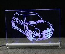 Mini ONE comme autogravur à LED-bouclier Mini Cooper
