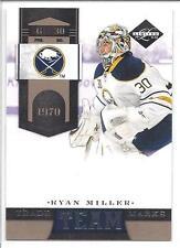 RYAN MILLER 2011-12 Limited TEAM TRADEMARKS x/299 #10