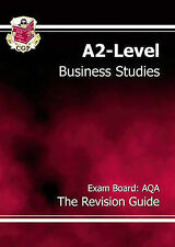 Very Good, A2-Level Business Studies AQA Revision Guide: AQA the Revision Guide,