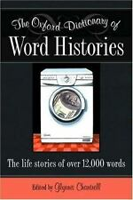 The Oxford Dictionary of Word Histories (2002, SOFT COVER*)