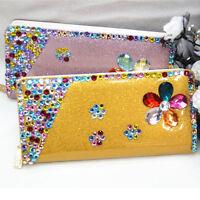 New Fashion Lady Long Women's PU Leather Wallet Clutch Purse  Gift  Bags Handbag