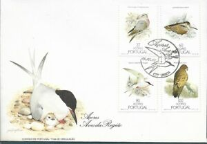 PORTUGAL -  1988 FDC - BIRDS FROM AZORES