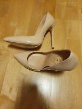 High Heels - Pumps - Spitz - Nude - Größe 39