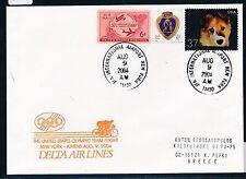 73053) Olympiade SF DELTA New York - Athen 9.8.2004, dog