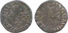 Henri III, liard la croix du st esprit, 1586 lyon, tres rare - 19